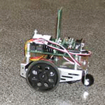 Two BoeBots controlled by Ikaros