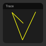 the trace object